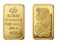 Pamp 1 Ounce Gold Bar