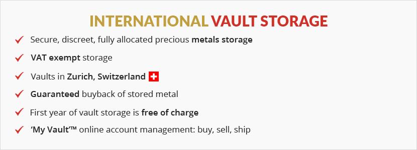 International vault Storage