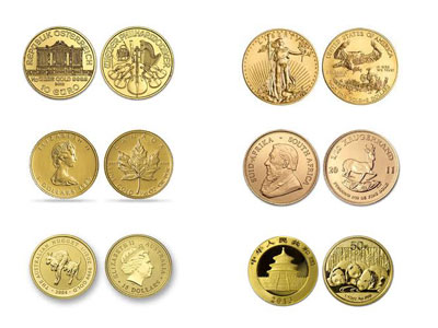1 10 Ounce Gold Coin Type Of Our Choice