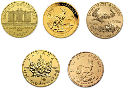 1 2 Ounce Gold Coin Type Of Our Choice