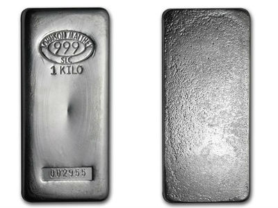 1 Kilogram Johnson Matthey Silver Bar