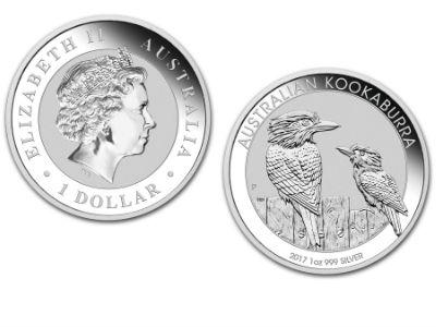 2018 Australian Kookaburra 1 Ounce Silver Coin