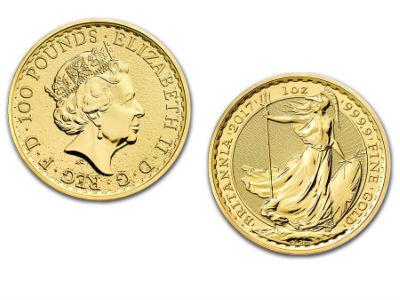 2018 British Britannia 1 Ounce Gold Coin