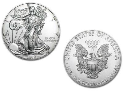 1 Unze American Eagle Silbermünze Jahre Unserer Auswahl