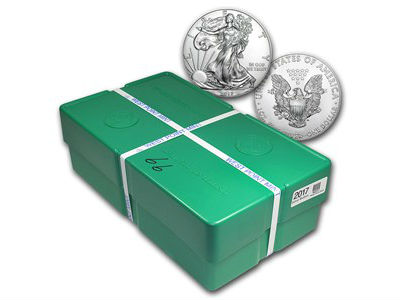 1 Ounce Silver American Eagle Monster Box
