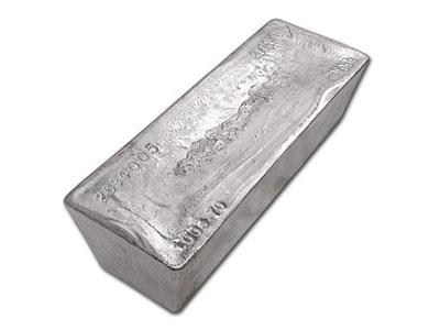 1000 Ounce Silver Bullion Bar Zurich Bullion Vault