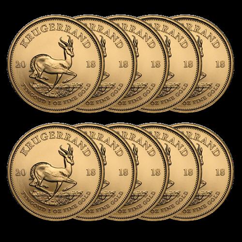 Whole 20 X 1 Oz Gold Krugerrands