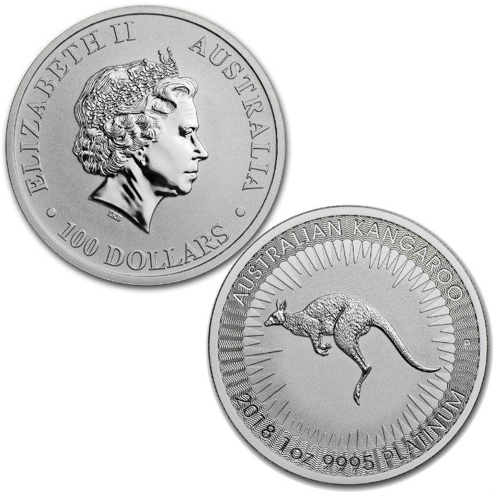 Gold Australian Platinum: 1 Ounce Platinum Kangaroo Coin