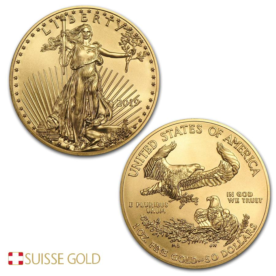 2019 1 Ounce American Eagle Gold Coin