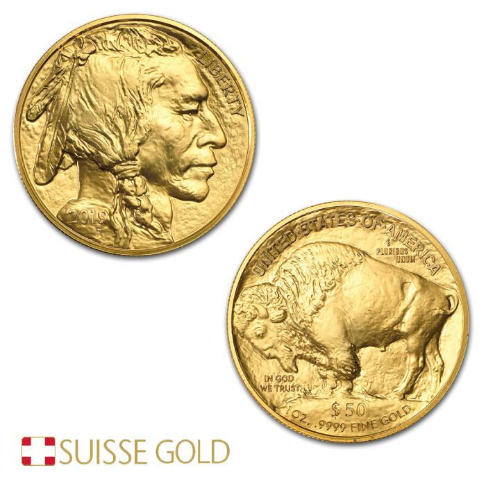 2019 American Buffalo 1 Ounce Gold Coin