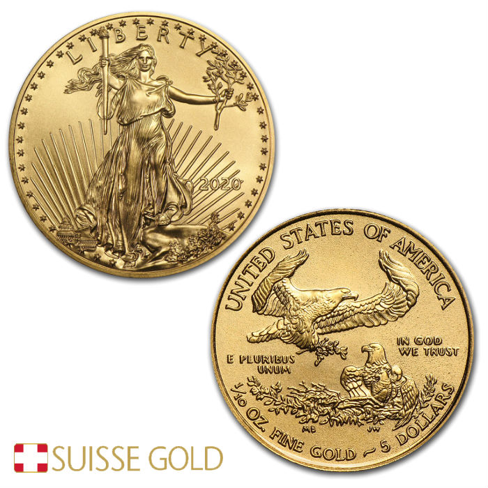 2020 1 10 Oz American Eagle Gold Coin
