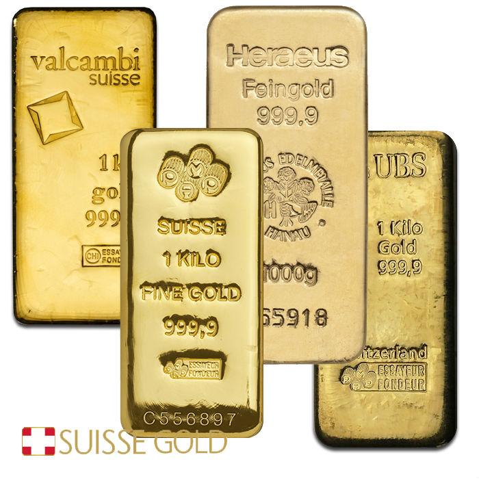 1 Kilogram Gold Bar