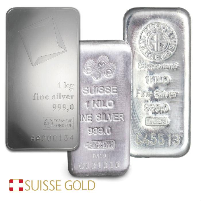 1 Kilogram Silver Bar