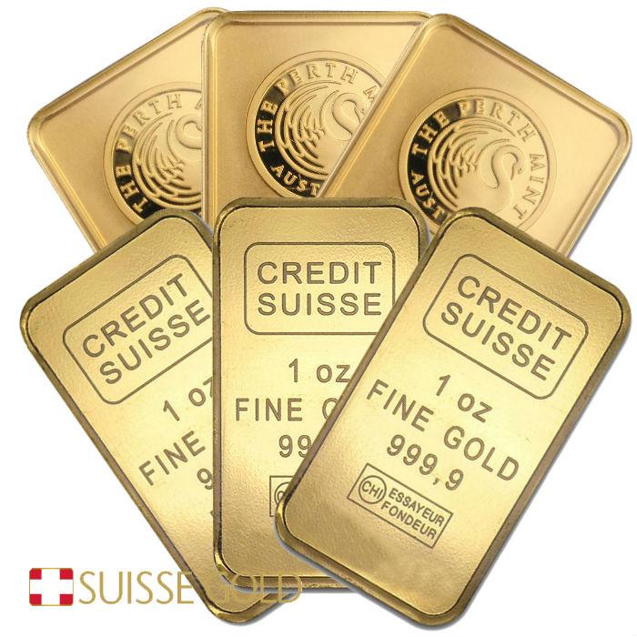 20 X 1 Oz Lbma Roved Gold Bar