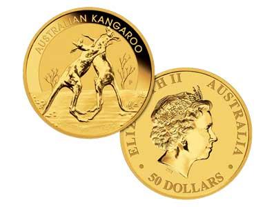 50 Dollar Gold Bullion Coin