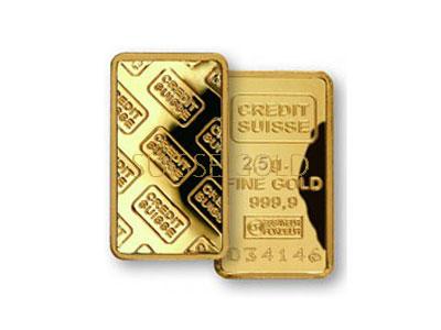 Credit Suisse 2 5 Gram Gold Bar