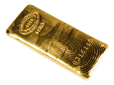 1 Kg Johnson Matthey Gold Bar